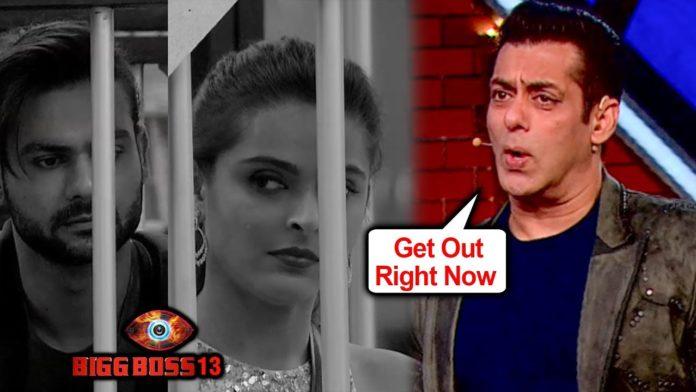 Salman Khan Gets ANGRY On Vishal - Madhurima, Asks Them To LEAVE The House | Bigg Boss 13