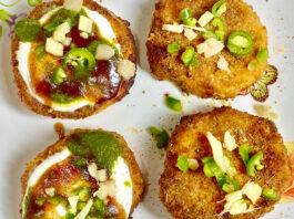 Sweet Potato Chaat (Shakarkandi) - Manjula's Kitchen